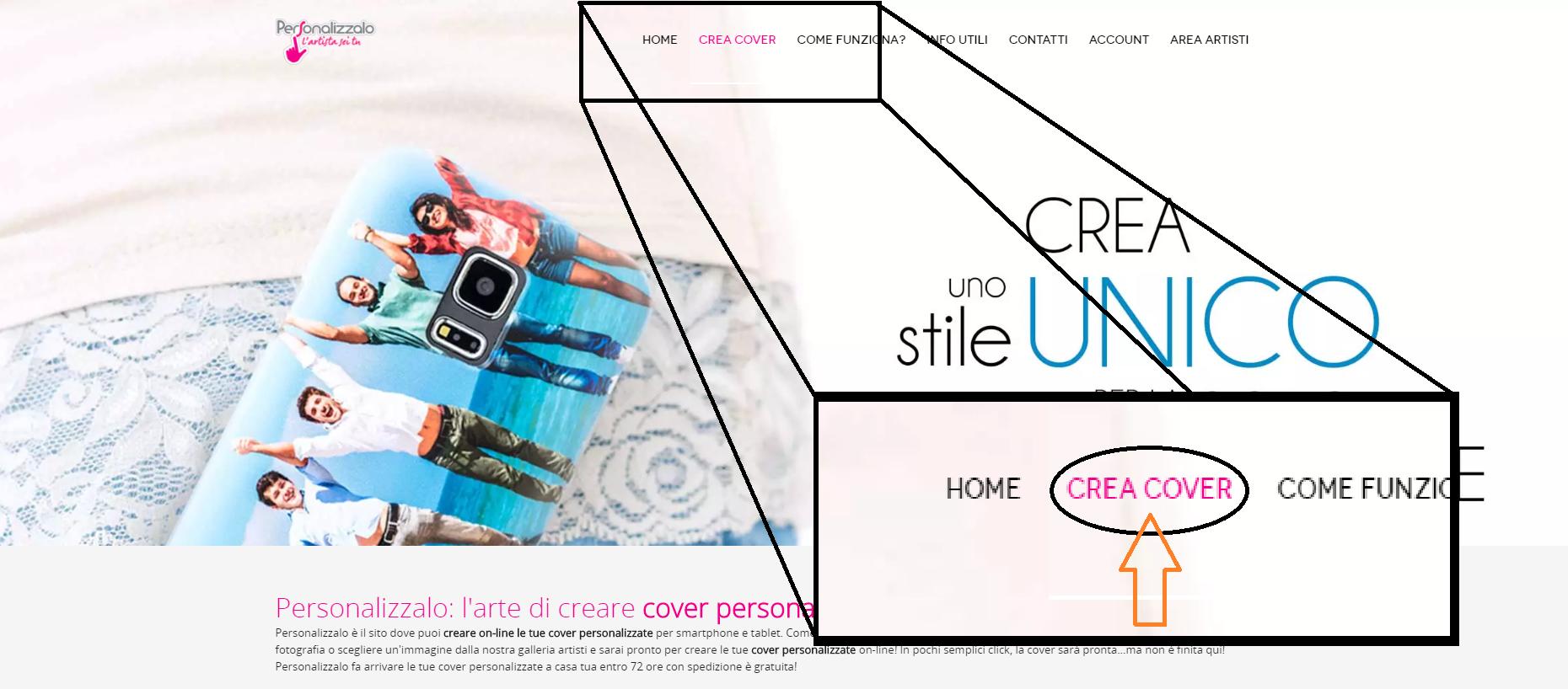 Personalizzalo: L'arte di creare cover personalizzate